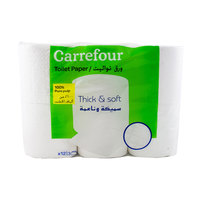 Carrefour Thick And Soft Toilett Paper 3 Ply x12 Roll