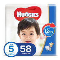 Huggies Super Flex Diapers Junior Size 5 58 Diapers