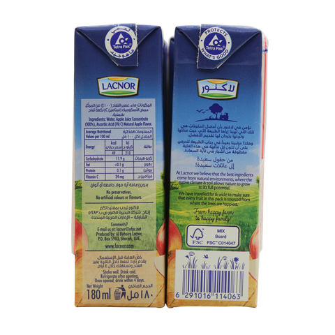 Lacnor-Essentials-Apple-Juice-180ml-x8