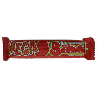 Big Babol Strawberry Mega Soft Bubble Gum 27g