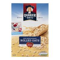 Quaker Oats 100% Wholegrain Rolled Oats 1kg