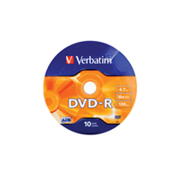 Verbatim DVD-R WRAP 43729 Pack Of 10