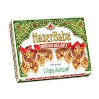 Hazer Baba Turkish Delight Crispy Almond 454g