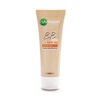 Garnier BB Cream Miracle Skin Perfector 5-IN-1 Daily Moisturizer UV Protection SPF 50 Medium 50ML