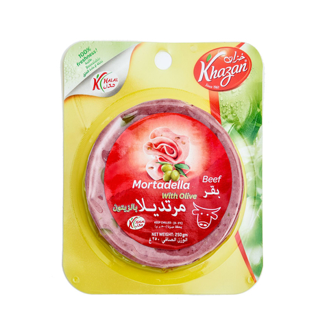 Khazan-Beef-Mortadella-with-Olives-250g