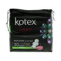 Kotex Designer Super + Wings 30 Pads