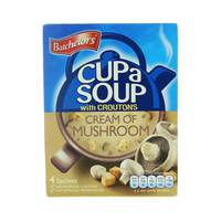 Batchelors Cup A Soup Cream of Mushroom with Croutons 99 g