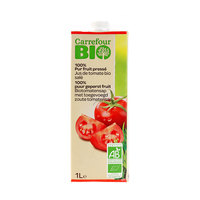 Carrefour Bio Organic Juice Tomatoes 1L