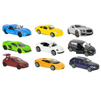 Majorette Square Pack 9Cars Diecast 1:64 - Assorted