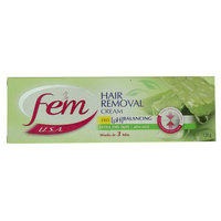 Fem Extra Dry Skin Hair Removal Cream With Lotion 120G