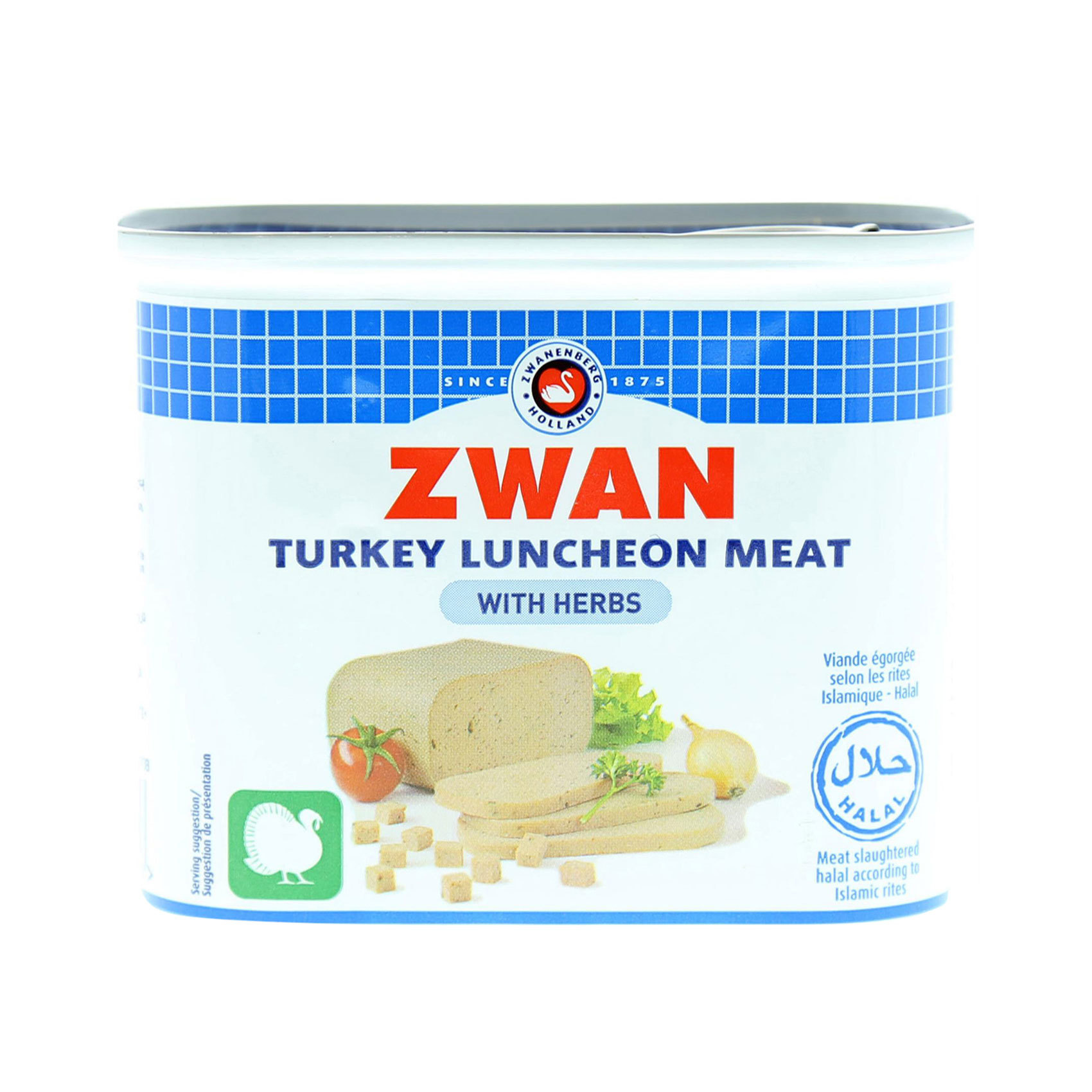 ZWAN LUNCHEON TURKEY MEAT 340GR