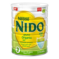Nestlé Nido FortiProtect One Plus Organic (1-3 Years Old) Growing Up Milk Tin 800g