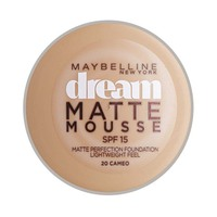 Maybelline New York Foundation Dream Matte Mousse Cameo 20 18ML