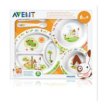 Philips Avent Toddler Mealtime Set 6 Months+