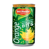 Del Monte Orange Juice Drink With Real Bits 240ml