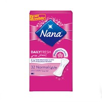 Nana Ladies Pads Pantyliner Normal 32 Napkins