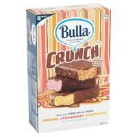 Bulla Crunch Variety Pack Orange Strawberry & Honey Comb 631ml