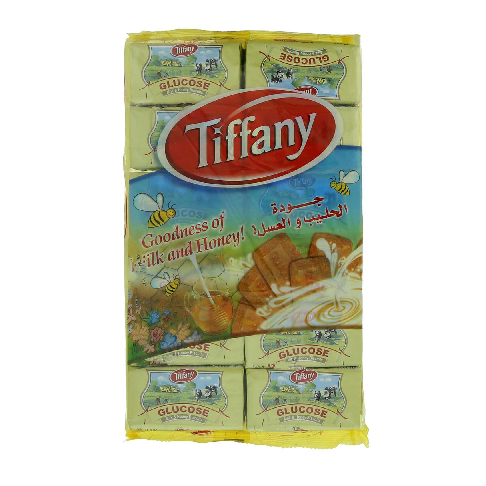 TIFFANY GLUCOSE MILK &HONEY 50GRX12