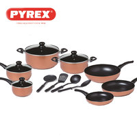 Pyrex Family Touch Cooking Set 15Pcs