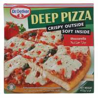 Dr.Oetker Deep Pizza Mozzarella 412g