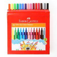Faber-Castell Fiber Tip Color Pen 30'S