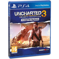 Sony PS4 Uncharted 3 Drakes Deception Remastered