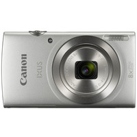Canon Camera IXUS 185 Silver + 16GB Card + Case