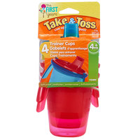 The First Years Take & Toss Tm Trainer Cup with Removeable Handle