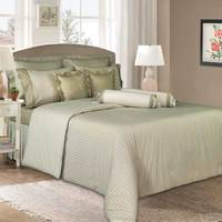 Cannon Full Comforter 4pc Set Brown