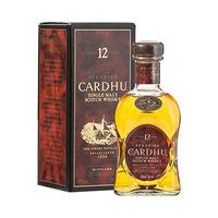 Cardhu Scotch whisky 40%V Alcohol 70CL