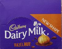 كادبوري شوكولاتة بالبندق 37 جرام 12 حبة