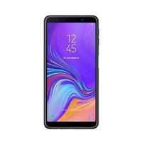 سامسونج سمارت فون A7 2018 نانو ثنائي الشريحة 128 جيجا بايت أندرويد لون أسود