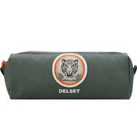 Delsey School 2018 Pencil Case Khaki Patchboy