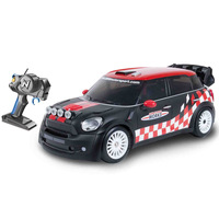 Nikko - RC Battery Operated Mini Countryman Wrc 1:16 - Black