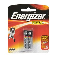Energizer Max Battery AAA E92 Pack Of 2 Pieces
