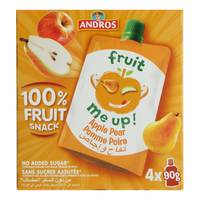 Andros Fruit me Up Apple Pear 90gx4