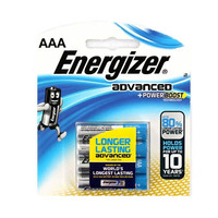 Energizer Advanced Power Boost AAA 4 Batteries