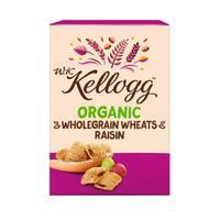 WK Kellogg Organic Wholegrain Wheats Raisin 300g