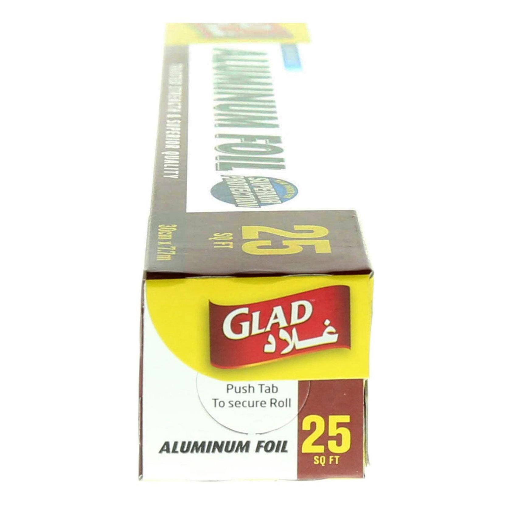 GLAD ALUMINUM FOIL 12 X 25 SQ FT
