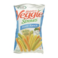Sensible Portions Garden Veggie Straws Zesty Ranch 141g