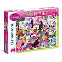 Clementoni Puzzle 60pcs Maxi Super Color Disney Minnie