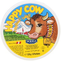 Happy Cow Processed Cheese 8 Portions 120g