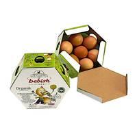 Kor Yumurta Bebish 7 Piece Organic Eggs 52gx7