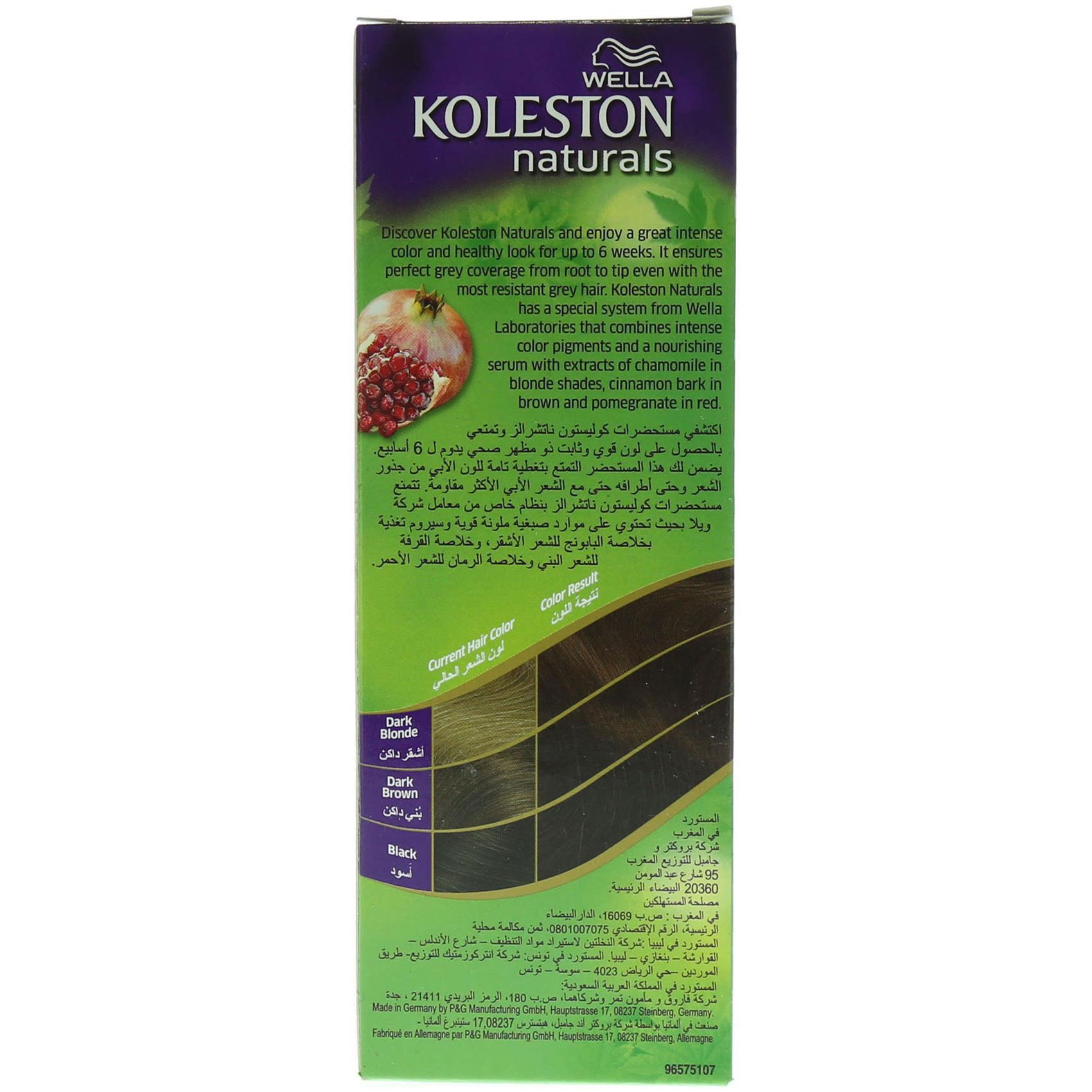 KOLESTON NAT 3/4 DARK CHESTNUT