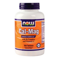 Now Cal- Mag Stress Formula 100 Tablets