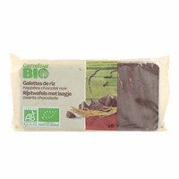 Carrefour Bio Organic Dark Chocolate Rice Cakes 100g