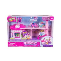 Cutie Cars Shopkins Drive Thru Diner Play Set Toys