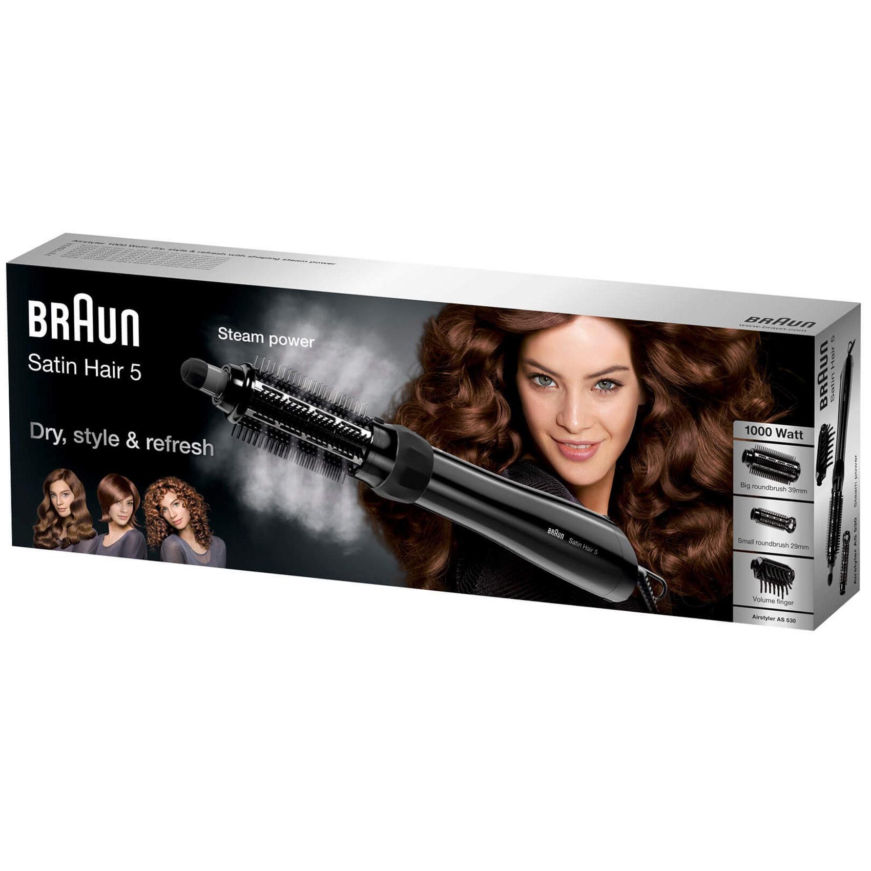 BRAUN HAIR STYLER AS 530