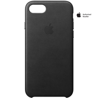 Apple Case iPhone 7 Leather Black