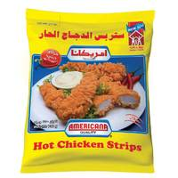 Americana Hot Chicken Strips 750g
